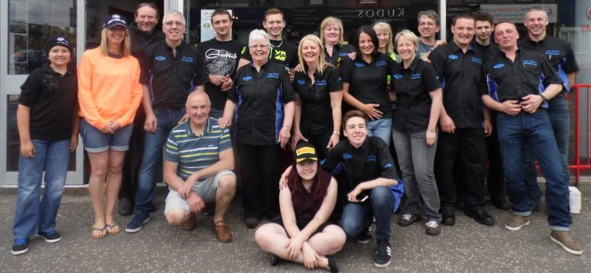 The Jim Allan Motorcycles Team