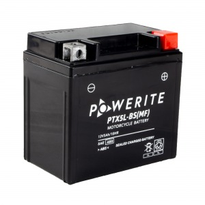 Battery Powerite PTX5LBS-12V MF - Factory Activated Sealed (Case 10)