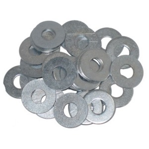 F/Steel Washer - 6mm - 20 Per Pack