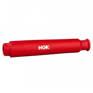 NGK plug cap SD05FM straight red (water resistant)