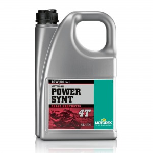 Motorex Power Synt 4T JASO MA2 (4) 10W/50 4L - Fully Synthetic Race Performance