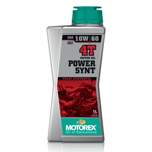 Motorex Power Synt 4T JASO MA2 (10) 10W/60 1L - Fully Synthetic Race Performance