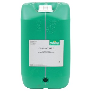 Motorex Coolant M5.0 Hybrid (HOAT) Ready to Use (Drum) Turquoise 25L