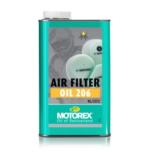 MOTOREX AIR FILTER OIL 206 1 LT