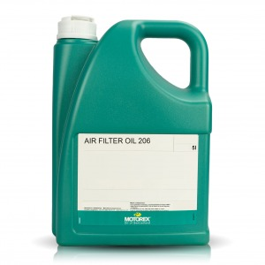 MOTOREX AIR FILTER OIL 206 5 LT