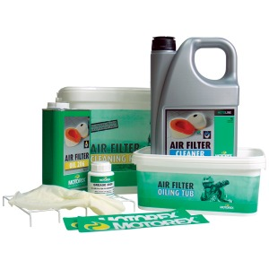 Air Filter Kit (206 1L, Bio Clean 5L, 2000 Grease, Tray, Gloves & 2 Buckets)