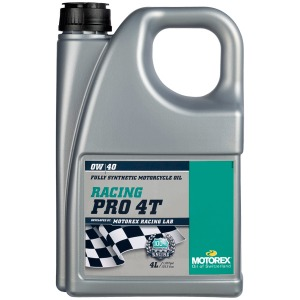 MOTOREX RACING PRO 4T 0/40 4 LT FULLY SYNTHETIC