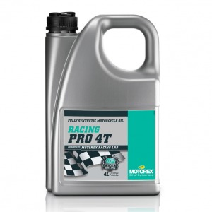 MOTOREX RACING PRO 4T 20/60 4 LT FULLY SYNTHETIC