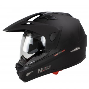 Helmet Nitro MX670 Uno DVS Satin Black Pin lock ready XXL - 64