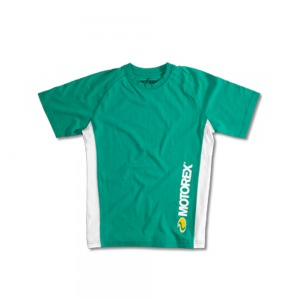 Motorex green cotton tee shirt - large