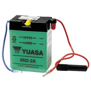 Battery Yuasa 6N2-2A-6V - Dry Cell, No Acid Pack (Case 10)