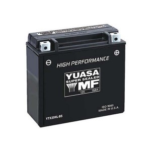Battery Yuasa YTX20HLBS-12V High Performance MF VRLA - Dry Cell, Includes Acid Pack
