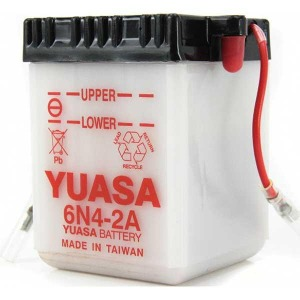Battery Yuasa 6N42A-6V - Dry Cell, No Acid Pack (Case 20)