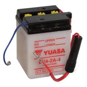 Battery Yuasa 6N42A-4-6V - Dry Cell, No Acid Pack (Case 20)