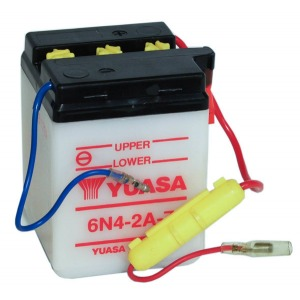 Battery Yuasa 6N42A-7-6V - Dry Cell, No Acid Pack (Case 20)