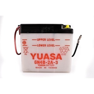 Battery Yuasa 6N4B2A3-6V - Dry Cell, No Acid Pack (Case 10)