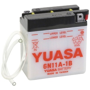 Battery Yuasa 6N11A-1B-6V - Dry Cell, No Acid Pack (Case 10)