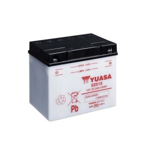 Battery Yuasa 52515-12V YuasaMicron DIN - Dry Cell, Includes Acid Pack (Case 2)