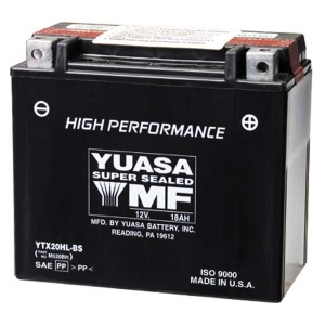 Battery Yuasa YTX24HLBS-12V High Performance MF VRLA - Dry Cell, Includes Acid Pack