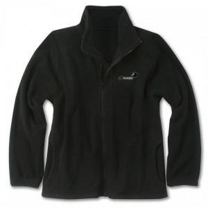 GS FLEECE BLACK LRG