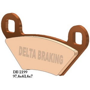 DELTA ORD(QDD) OFF ROAD PADS DB2199 (FA475)