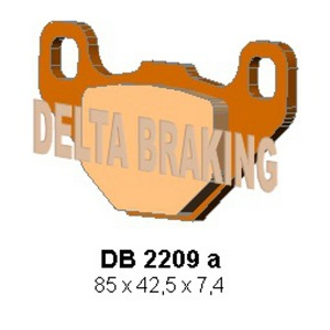 DELTA ORD(QDD) OFF ROAD PADS DB2209