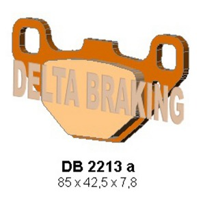 DELTA ORD(QDD) OFF ROAD PADS DB2213