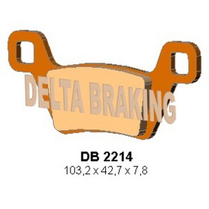 DELTA ORD(QDD) OFF ROAD PADS DB2214 (FA600)