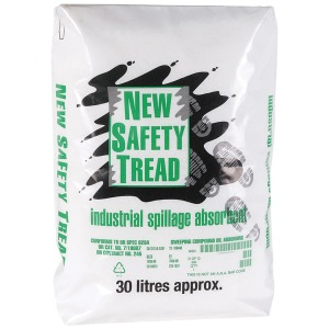 Oil and water safety tread granules 30 litre bag