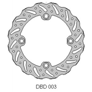 Delta MX rear brake disc Honda CR125 89-01 and CR250 95 - 97