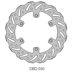 Delta MX front disc fits Yam YZ/WR 125-426 models