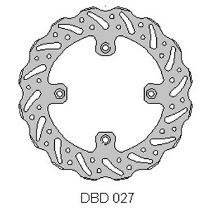 Delta MX rear brake disc for YZ80 and YZ85 inc big wheel models
