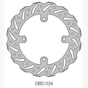 Delta front MX brake disc for Suzuki RMZ250/450 and RMX450