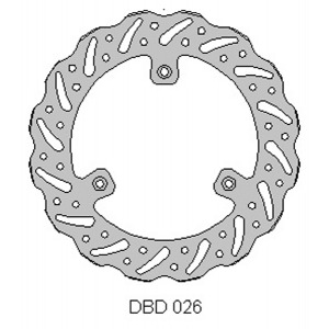 Delta MX front brake disc fits Yam YZ80/85 Suz RM85
