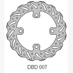 Delta MX front brake disc fits Kaw KX65 00-15 and Suz RM65 03-07