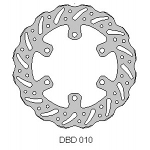 Delta MX front brake disc for Kaw KX85 01-15 KX100 06-15