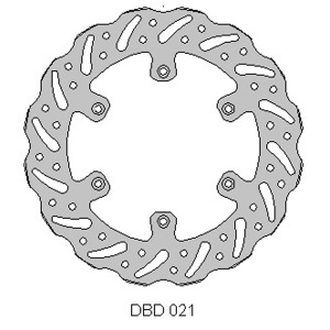 Delta MX front disc fits YZ125/240 WRF/YZF, RM125 250 KLX400R and more