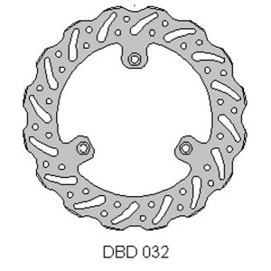 Delta MX front brake disc fits KTM65 00-17