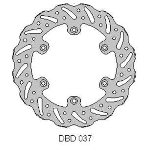 DELTA MX BRAKE DISC REAR DBD037 EXC/SX/SXF 1998-2017