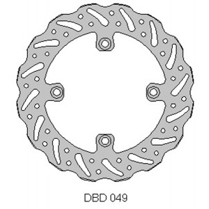 DELTA MX BRAKE DISC REAR DBD049 HUSQ TC/TE/WR 2011-13