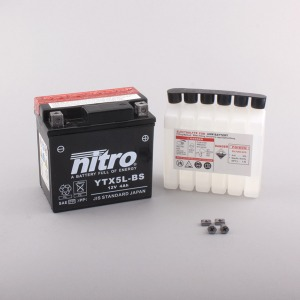 Nitro Battery YTX5LBS with acid pack (6)