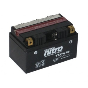 Nitro Battery YTX7ABS with acid pack (4)