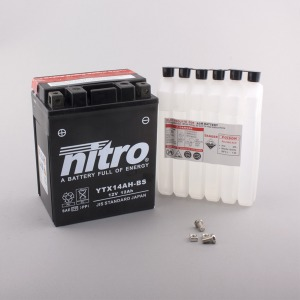Nitro Battery YTX14AHBS with acid pack (4)