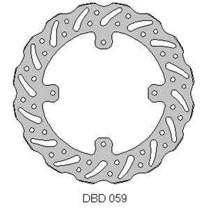 Delta front brake disc for Honda CRF 250/450 15-17