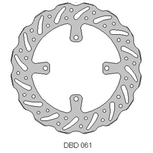 Delta MX front brake disc fits Kaw KX250/450F 15-17