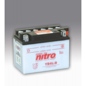 Nitro Battery YB4LB with acid pack (6)