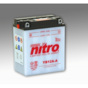 Nitro Battery YB12AA with acid pack (4)
