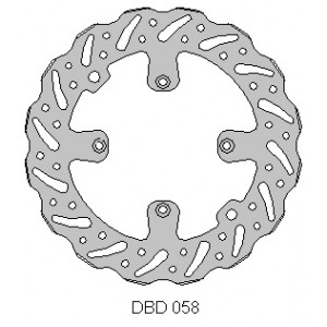 Delta MX front brake disc for KTM 85 big wheel 2012 - 2017