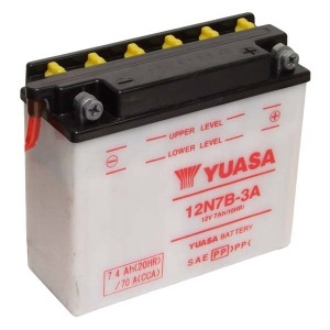 Battery Yuasa 12N7B-3A-12V - Dry Cell, No Acid Pack (Case 5)