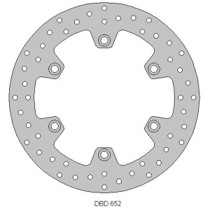 Delta front street bike disc for CBR125R 04 - 10